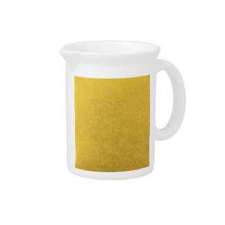 GOLD DUST (a precious metal color) ~ Beverage Pitcher