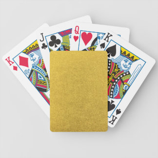 GOLD DUST (a precious metal color) ~ Bicycle Playing Cards