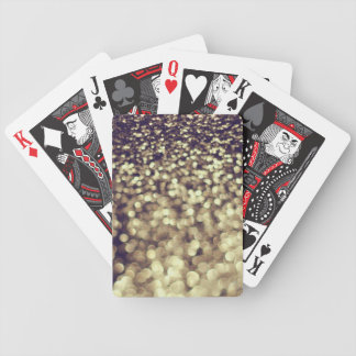 Gold Dust Bicycle Playing Cards