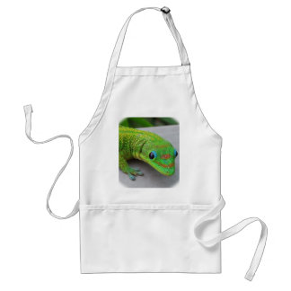 Gold Dust Day Gecko – Audition and Get Some Gecko Adult Apron