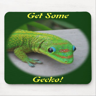 Gold Dust Day Gecko – Audition and Get Some Gecko Mousepads