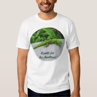 Gold Dust Day Gecko – Audition and Get Some Gecko Tee Shirt