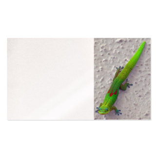 Gold Dust Day Gecko Double-Sided Standard Business Cards (Pack Of 100)