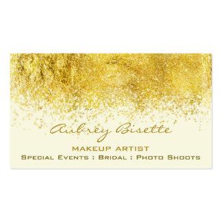 Gold Dust Makeup Artist custom business cards