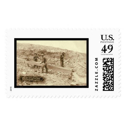 Gold Dust Mining Rockerville SD 1889 Postage Stamps