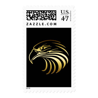 GOLD EAGLE HEAD POSTAGE