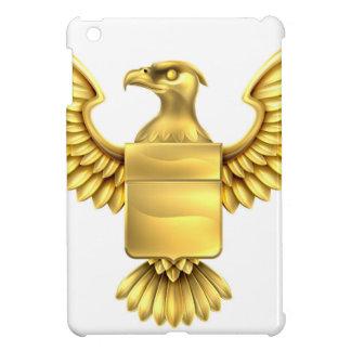 Gold Eagle Shield Case For The iPad Mini