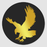 GOLD EAGLE STICKERS