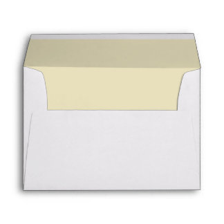 Gold Ecru Tan Light Invitation Envelope