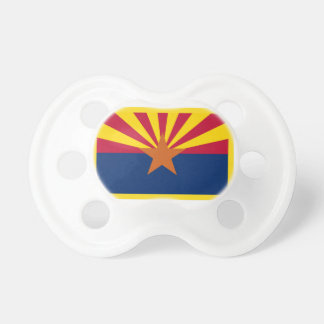 Gold Edge Arizona Flag Pacifier
