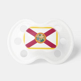 Gold Edge Florida Flag Pacifier