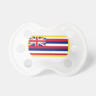 Gold Edge Hawaii Flag Pacifier