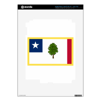 Gold Edge Mississippi Secession Flag iPad 3 Decal