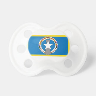 Gold Edge Northern Marianas Flag Pacifier