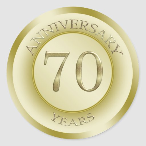 70th Wedding Anniversary Gifts - T-Shirts, Art, Posters & Other Gift ...