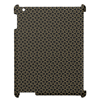 Gold-effect, Black Islamic Pattern iPad Savvy Case Case For The iPad