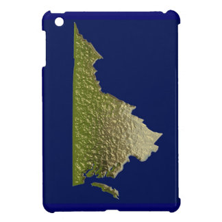 Gold effect Virginia state outline ipad cover