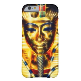Gold Egyptian Pharaoh Energy Fractal Barely There iPhone 6 Case