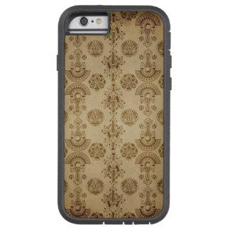 Gold Egyptian Print Ecru Taupe Tough Xtreme iPhone 6 Case