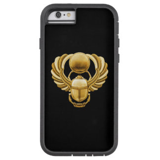 Gold Egyptian Scarab iPhone 6 Case