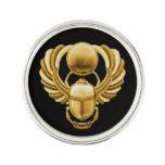 Gold Egyptian Scarab Lapel Pin at Zazzle