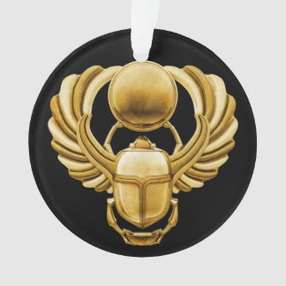 Gold Egyptian Scarab Ornament