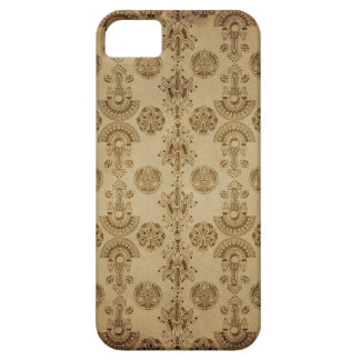 Gold Egyption Print Ecru Taupe iPhone SE/5/5s Case