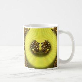 Gold Ele Coffee Mug