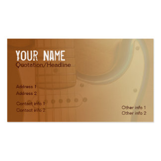 Gold Electric-telic Business card