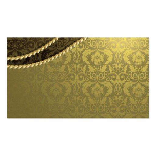 Gold Elegant Business Card