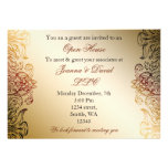 gold elegant Corporate party Invitation