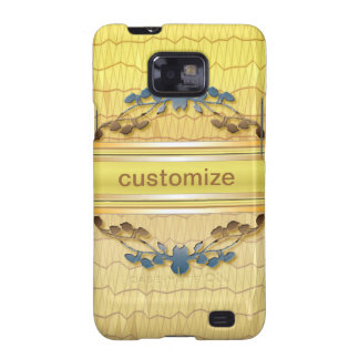 Gold Embellished Samsung Galaxy S2 Cases