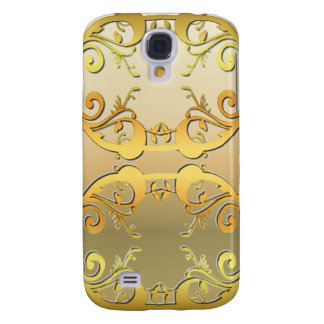 Gold Embellished Galaxy S4 Cases