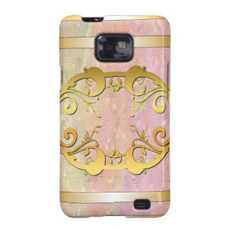 Gold Embellished Galaxy S2 Case