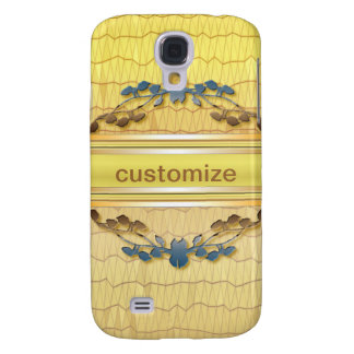 Gold Embellished Samsung Galaxy S4 Case