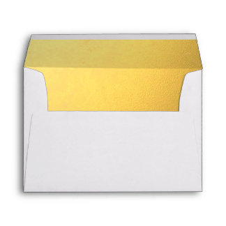 Gold Embossed-Effect Lined Envelope