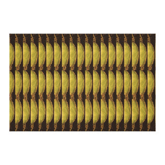 Gold Energy From Vintage Egyptian PYRAMID Canvas Print