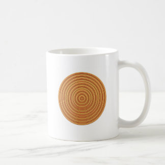 Gold Energy Spectrum - keep in sight Classic White Coffee Mug