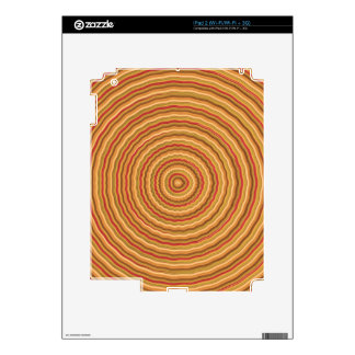 Gold Energy Spectrum - keep in sight iPad 2 Skins