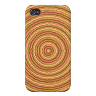 Gold Energy Spectrum - keep in sight Covers For iPhone 4