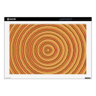 Gold Energy Spectrum - keep in sight Laptop Skin