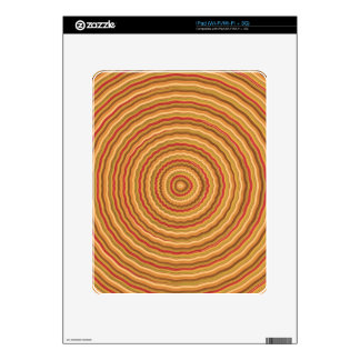 Gold Energy Spectrum - keep in sight Skin For The iPad
