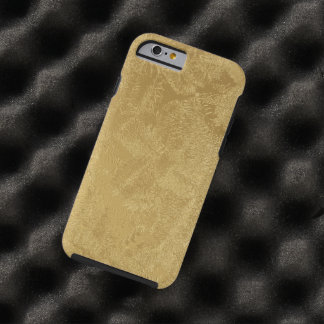 Gold Etched Look Case for iPhone 6