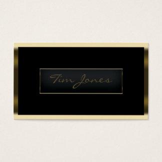 Gold Exec Business Card
