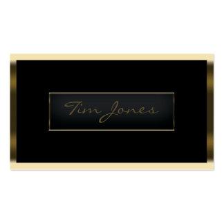 Gold Exec Business Card Templates