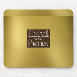 Gold External Promise Mouse Pad
