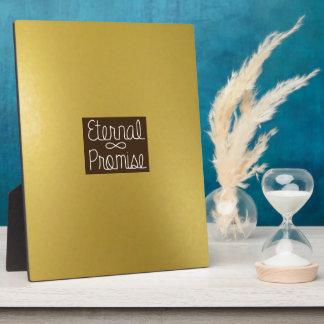 Gold External Promise Photo Plaque