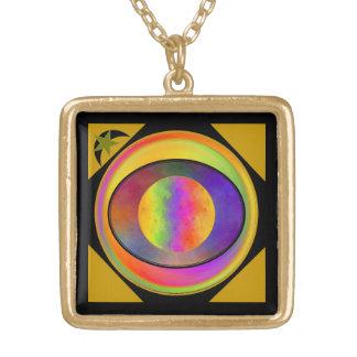 Gold Eye Necklace