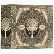 Gold Family Tree Genealogy Album Binder (<em>$24.15</em>)
