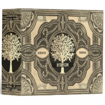 Gold Family Tree Genealogy Album Binder